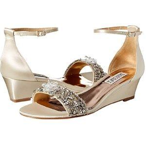 BADGLEY MISCHKA - Women's Fiery Wedge Sandal/ 10